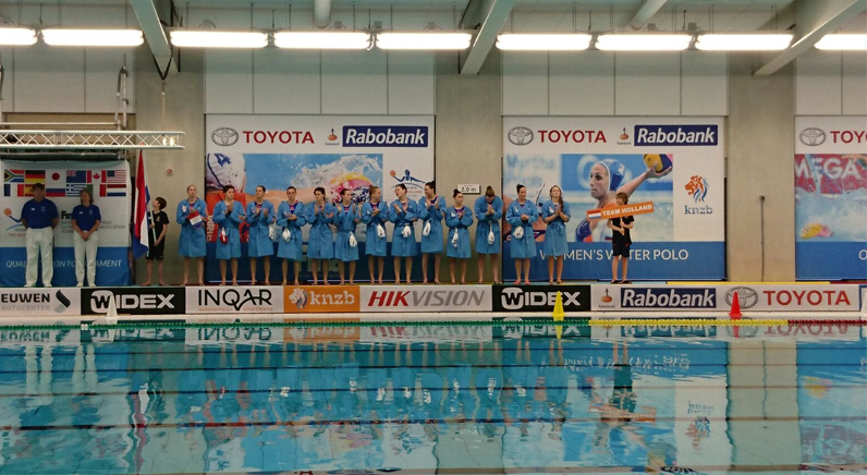 Hikvision captures Water Polo Olympic Qualification Tournament