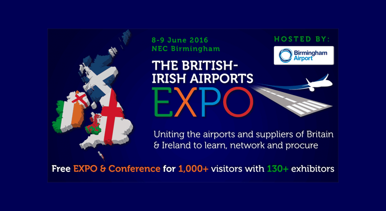 Last chance to check in to the British-Irish Airports Expo