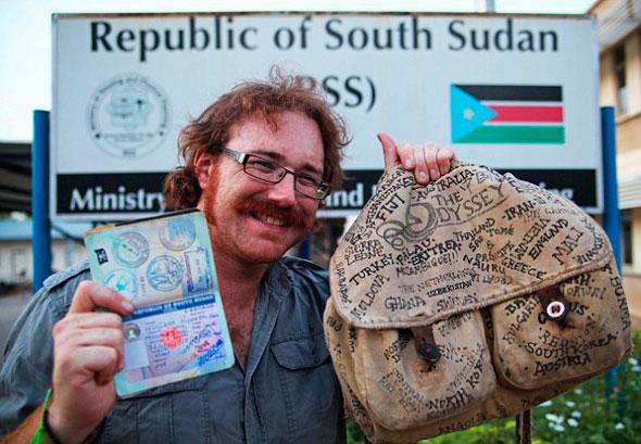Graham Hughes, o primeiro homem a viajar por todos os países sem usar avião