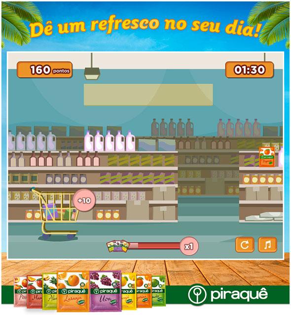 Piraquê lança divertido jogo no Facebook para ferrar de vez com sua produtividade