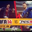 FIFA 14 vs PES 14 Gameplay ≈ Insert Coin