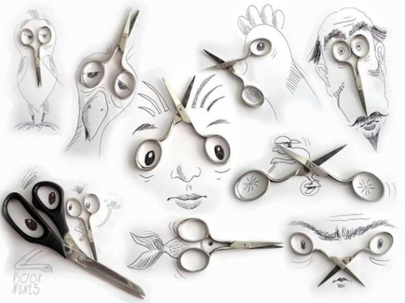 A arte de fazer arte com qualquer coisa