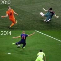 Veja os Gols e reações do Épico Espanha 1 x 5 Holanda