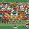Todas as seleções que participam da Copa do Mundo em apenas uma ilustração