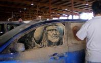 carros arte  A arte em carros sujos de Scott Wade é incrível