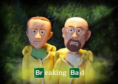 series Lost in Translation filmes breaking bad  Cartazes de filmes e séries feitas com massa de modelar