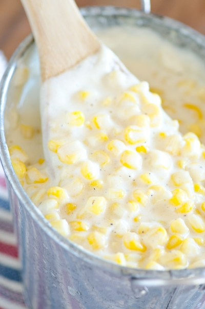 Slow Cooker Cream Corn (Rudy's BBQ Copycat)