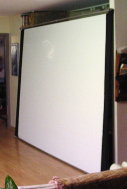 Portable 10′ x 7′ screen