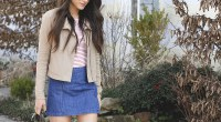 Retro Mini Skirt + Linkup