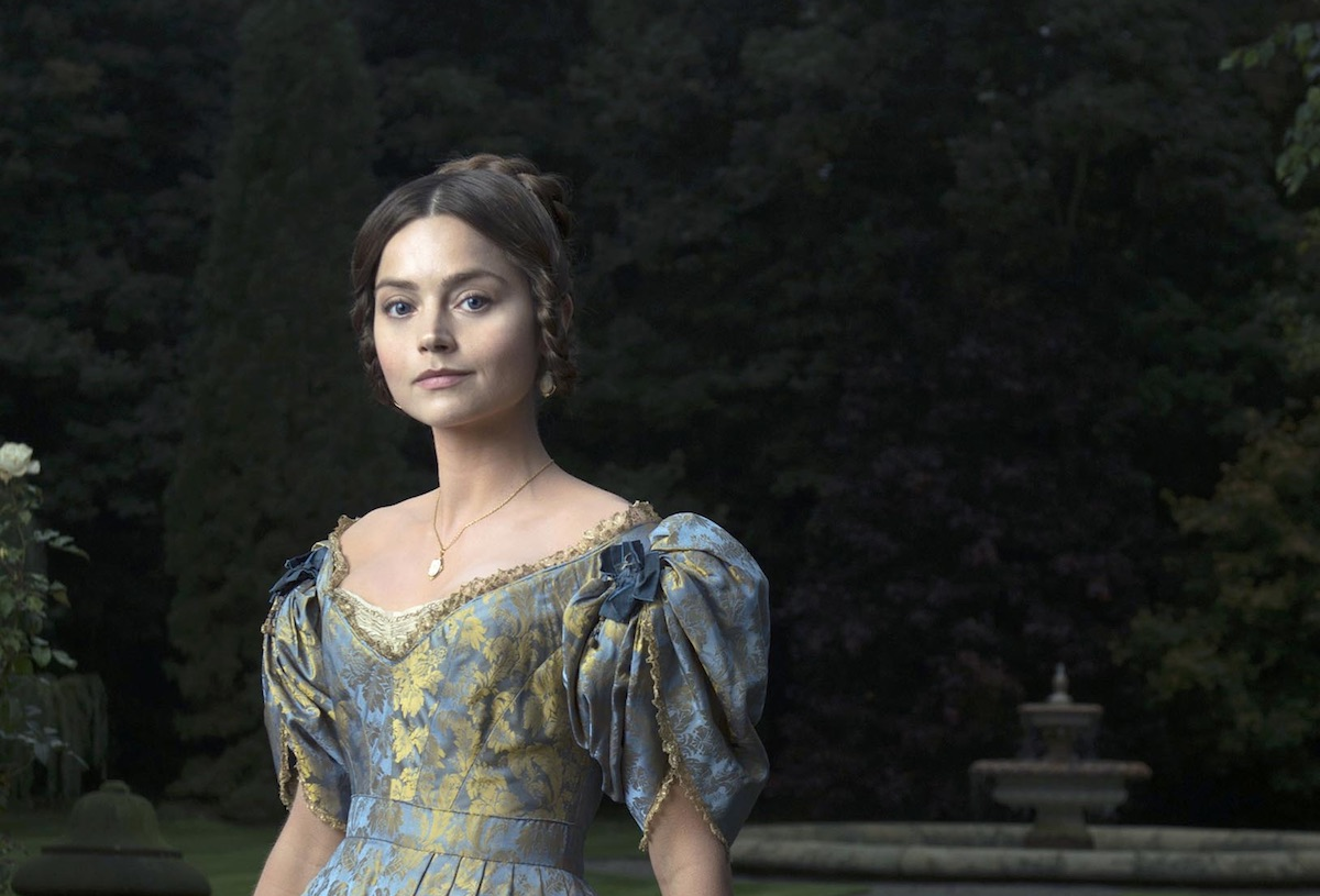 Jenna Coleman as Queen Victoria. Image: ITV /  Mammoth Screen