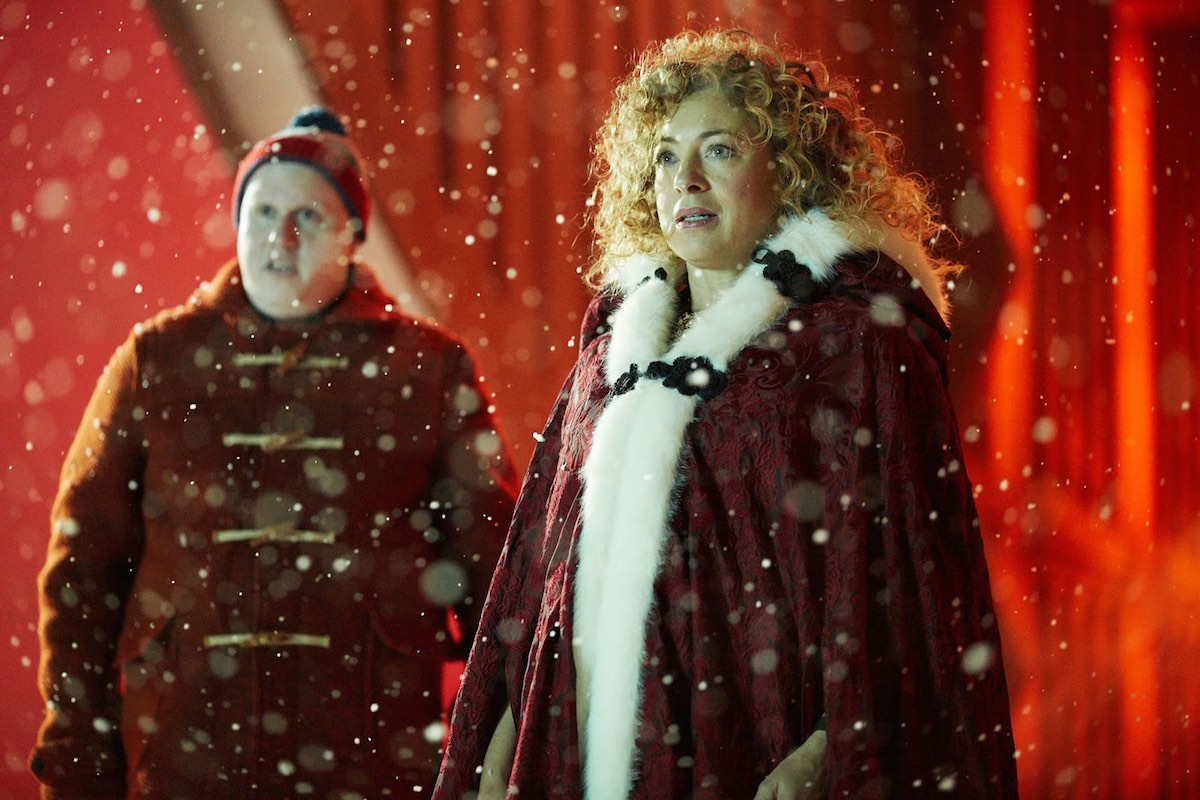 Lucas previously appeared in the show's Christmas Special. Image: BBC