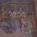 Emmaus/Abu Ghosh: Fresco in Crusader church  (© Israel Ministry of Tourism)
