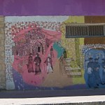 Murals depicting Jewish settlement in Israeli-controlled area of Hebron (Itai / Wikimedia)