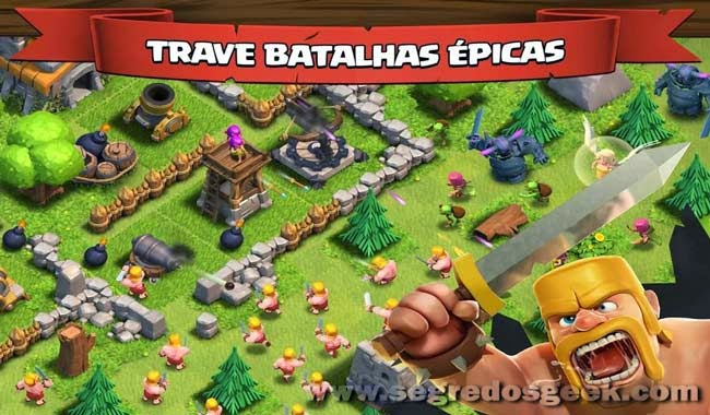 Clash of Clans para Android gratuito.