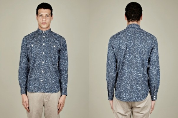 Levis Made and Crafted Leopard Print Work Shirt