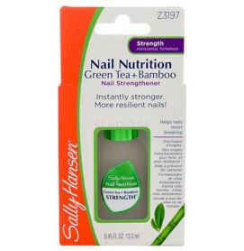 Lak na nechty Sally Hansen Nail Nutrition Green Tea + Bamboo