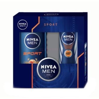 Darčeková sada Nivea Men Sport Shower Gel Kit