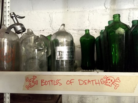 Bottles of Death from the Pittsburgh Seltzer Works