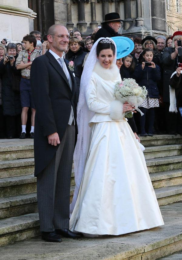 Adelaide y su padre, el diplomático Philippe Drape-Frisch