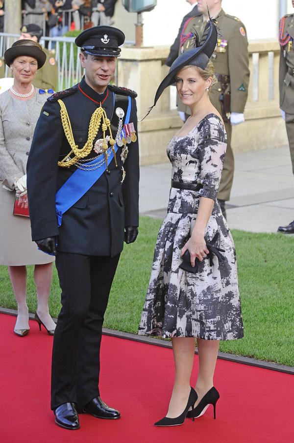 Eduardo y Sophie de Wessex