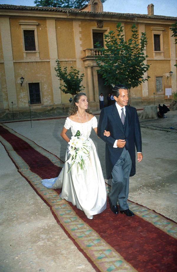 Padrino de boda de su hija Sonsoles