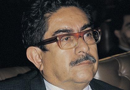 Manuel Cepeda, dirigente del Partido Comunista y senador de la Unión Patriótica (UP)