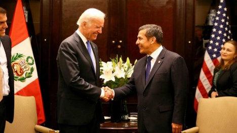 Biden con Humala