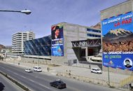 Aspecto exterior del recinto donde sesionó el Foro de Sao Paulo.