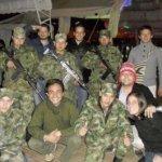 """Integrantes de la llamada """"Operación Libertad"""". Bajo la pantalla de una ONG de """"lucha por la democracia"""", los líderes estudiantiles realizaban entrenamiento paramilitar en Colombia. (Foto: Facebook)"""