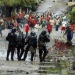 Colombia represión
