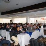 Delegados regionales a la asamblea de Sintrabancol en Bogotá. Foto J.C.H.