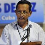 Comandante Fidel Rondón, integrante de la delegación de paz de las FARC-EP