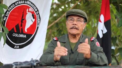Máximo jefe del Ejército de Liberación Nacional (ELN) de Colombia, Nicolás Rodríguez Bautista, Gabino.