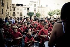 Orquestra dels Dracs de la Bisbal. Foto de Daniel opez, Flickr CC