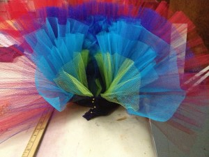 Partially constructed tutu