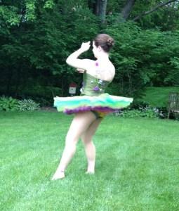 twirling ballerina