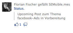 facebook Ads - Sponsored Posts 2