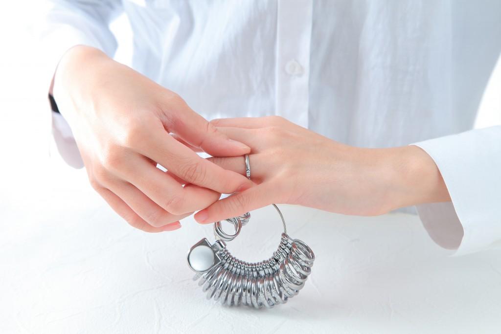 サイズ測定器レンタル 結婚指輪 婚約指輪 仙台