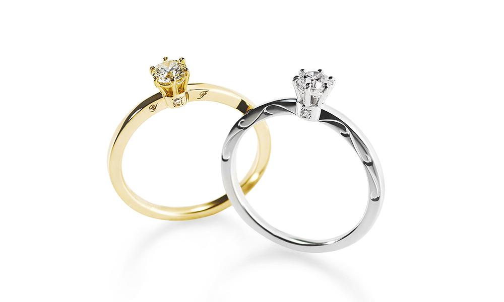 アーカー婚約指輪