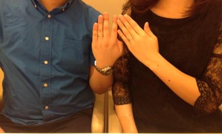 仙台、結婚指輪、お客様の声