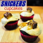Snickers Cupcakes by www.sensualappealblog.com #cupcakes #dessert @snickers