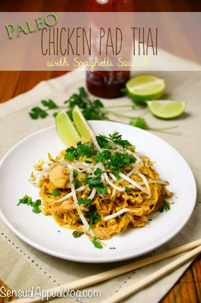 Paleo Gluten-Free, Super-Easy Chicken Pad Thai