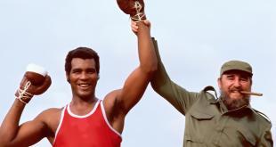 Teófilo Stevenson e Fidel Castro nel 1984
