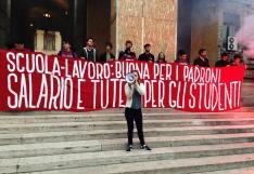 Lo scorso 18 ottobre gli studenti avevano contestato il convegno fra Miur e multinazionali