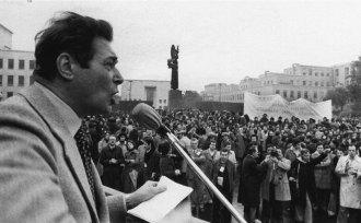 Luciano Lama alla Sapienza