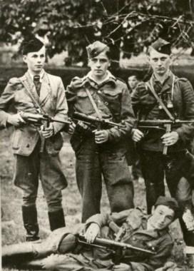 Alcuni partigiani sloveni