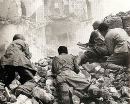 Combattimenti il 10 settembre '43 a Roma