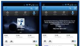 Twitter Mobile Headers
