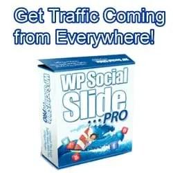 WP Social Slide Pro Plugin for WordPress