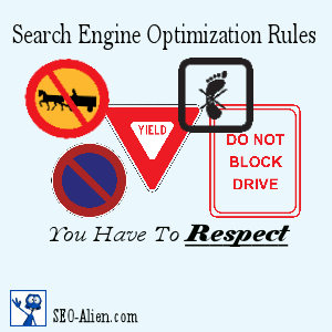 4 Search Engine Optimization Rules You Have To Respect